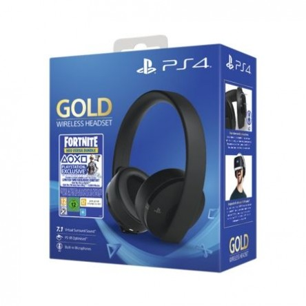 Auriculares Inalámbricos SONY GOLD + FORTNITE VOUCHER 2019